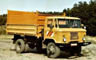 ГАЗ-САЗ-3511 на базе ГАЗ-66; самосвал с повышенной проходимостью
